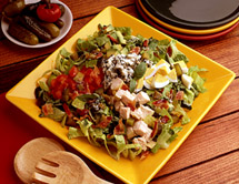 Photo: Cobb salad with pickles