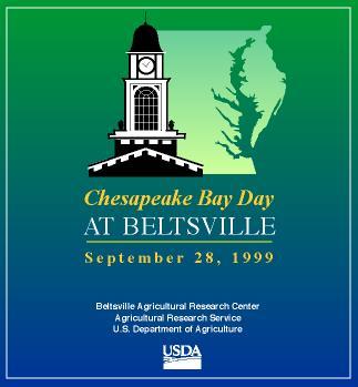 Poster advertising Chesapeake Bay Day.