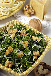 Walnut and parsley salad.