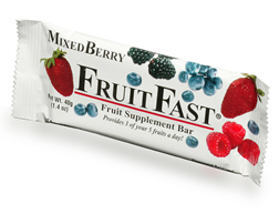 FruitFast MixedBerry Bar