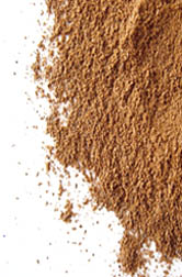 Photo: Ground cinnamon.