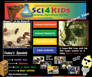 Photo: ARS's Sci4Kids website.